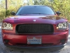 2009 Dodge Charger Danko 68 custom daytona srt Honeycomb Grille body kit billet grill spoiler 4