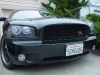 2008 Dodge Charger Danko 68 custom daytona srt Honeycomb Grille body kit billet grill spoiler 8