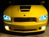 2008 Dodge Charger Danko 68 custom daytona srt Honeycomb Grille body kit billet grill spoiler 53