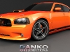 dodge Charger Grill custom Charger body kit daytona srt Honeycomb billet grille 69 danko spoiler 9