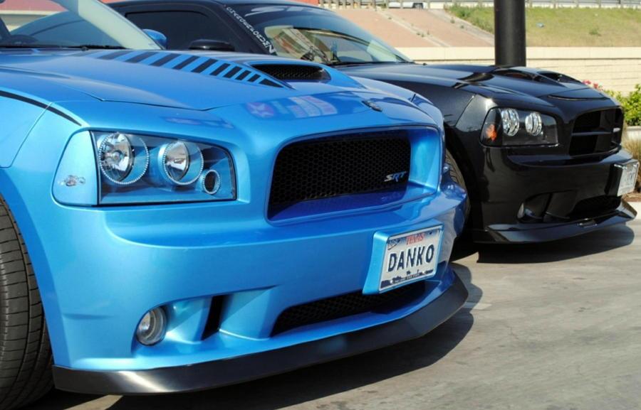 Dodge Charger Srt Front Spoiler Custom Lip Ground Effects Danko
