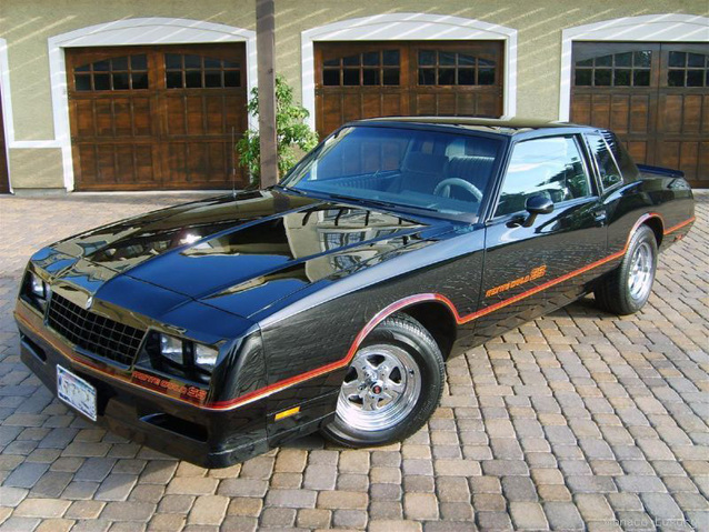 Chevrolet Monte Carlo Ss on 1984 Buick Lesabre