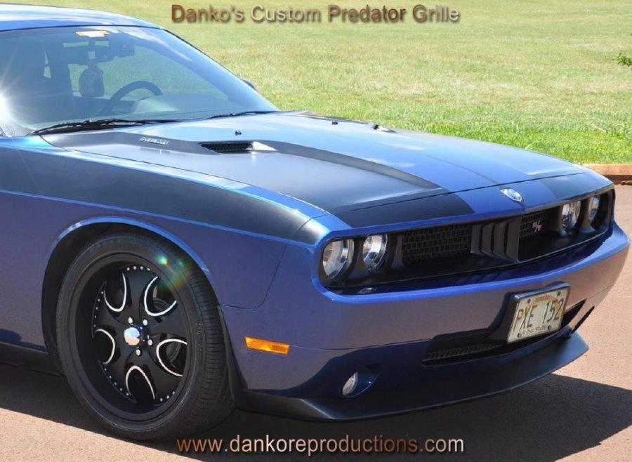 Dodge Challenger Custom Cuda Grill Grille Wm Wm