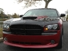 2006-2010 Dodge Charger Front Chin Spoiler Custom Daytona wing Lip splitter Danko Body ground effects air dam Kit 5
