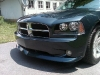 2008 Dodge Charger front Spoiler wing Custom Front Lip danko Daytona ground effects charger air dam Body Kit 12