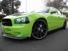 2009 Dodge Charger Daytona front Spoiler Custom ground effects Front Lip danko wing charger Body Kit air dam 13