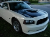 2010 Dodge Charger Ram Air hood Danko Custom SRT8 daytona Fiberglass SRT Shaker Cold Intake Scoop Filter System dodge charger Body Kit 15