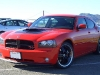 2006 Dodge Charger aftermarket hood Danko Custom SRT8 Fiberglass SRT Shaker Cold Ram Intake Air Scoop Filter System CAI Body Kit 21