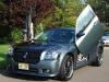 2006 Dodge Magnum fiberglass hood Danko Custom SRT8 Fiberglass Shaker Hood Cold Air Intake Ram Scoop Filter System Aftermarket Body Kit 14