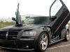 2005-2008 Dodge Magnum hood scoop Danko Custom RT SRT8 Fiberglass SRT Shaker Cold Ram Intake Air Filter System Aftermarket Body Kit sxt 6