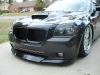 2006 Dodge Magnum body kit Chin Spoiler Custom Front Lip Airfoil Danko Shaved Wing Splitter Ground effects Air Dam 12