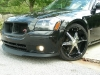 2008 Dodge Magnum body kit Chin Spoiler Custom Front Lip Airfoil Danko Shaved Wing Splitter Ground effects Air Dam 25