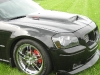 2007 Dodge Magnum body kit Chin Spoiler Custom Front Lip Airfoil Danko Shaved Wing Splitter Ground effects Air Dam 28
