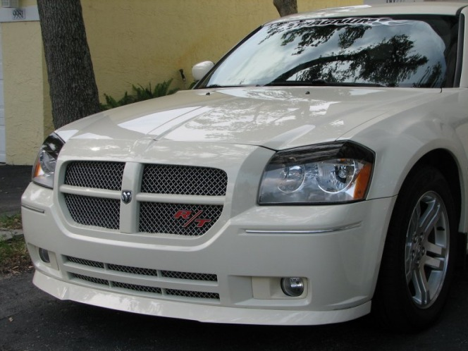 2005 2007 dodge magnum body kit chin spoiler custom front lip airfoil