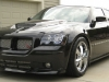 2007 Dodge Magnum body kit Chin Spoiler Custom Front Lip Airfoil Danko Shaved Wing Splitter Ground effects Air Dam 3