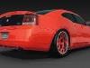 2010 Dodge Charger Rear Diffuser Custom Spoiler Bumper Ground effects air dam body kit Danko Daytona SRT8 SRT R/T charger lower valance Splitter 15