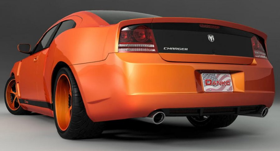 Dodge Charger Custom Rear Widebody on 1970 Buick Lesabre