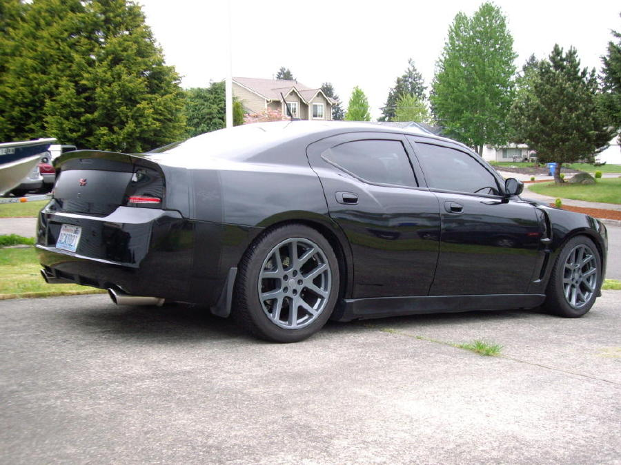 D Dodge Charger Rear Spoiler Custom Piece Danko Wing