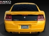 2007 Dodge Charger Rear Spoiler Custom wing body kit Chin Front Lip V2RS airfoil Danko ground effects charger Body Kit R/T airfoil 53