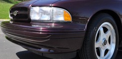 Impala Smoothie Front Bumper Covers