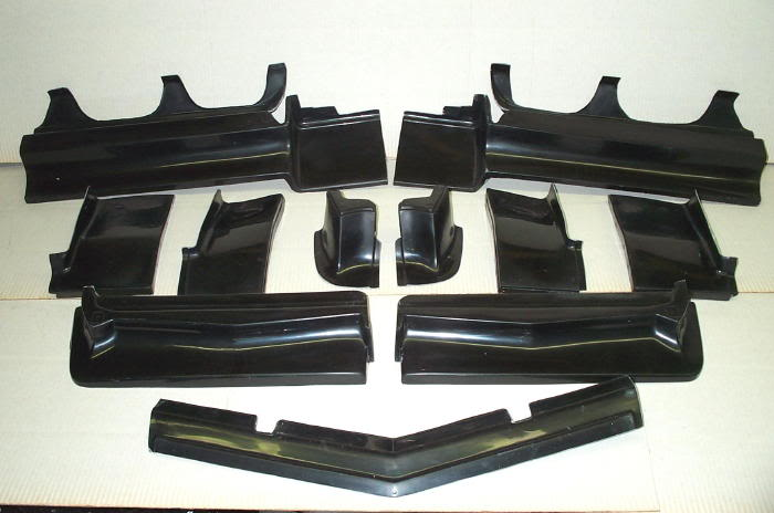Buick Riviera Bumper Filler Set Danko Reproductions