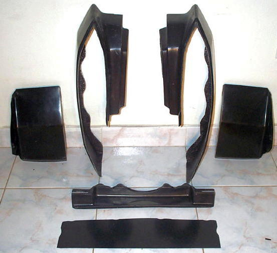 Piece Front And Rear Bumper Filler Set on 1980 Chevy Magnum