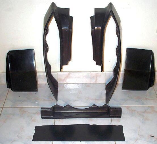 1980- 1992 CADILLAC DEVILLE Bumper Filler Set,CADILLAC