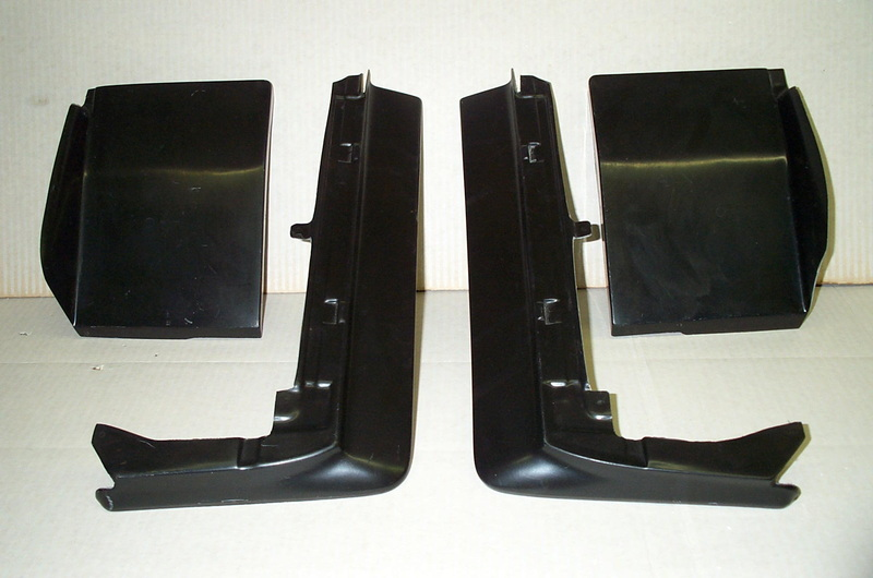 1980-1985 Cadillac Seville Front Set Bumper Fillers/Quarter Panel Extensions