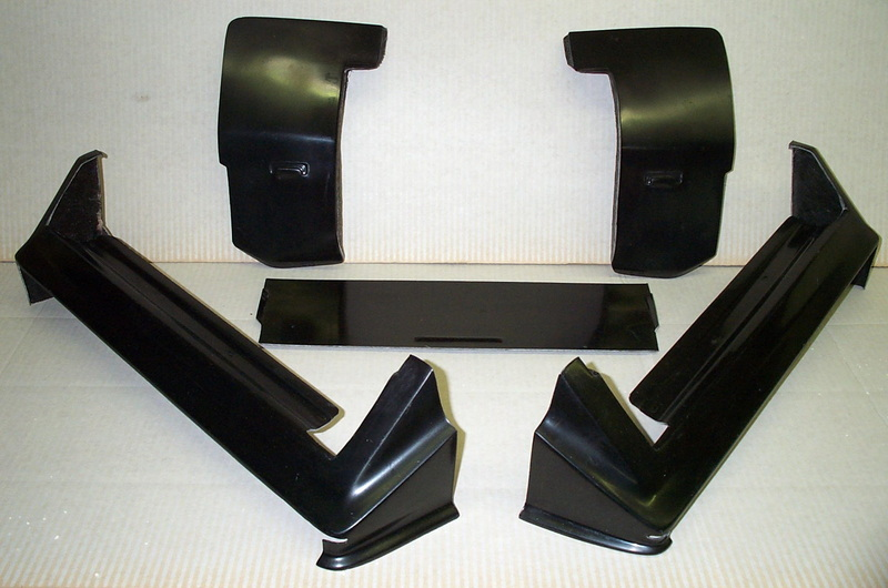 1980-1985 Cadillac Seville Rear Set Bumper Fillers/Quarter Panel Extensions