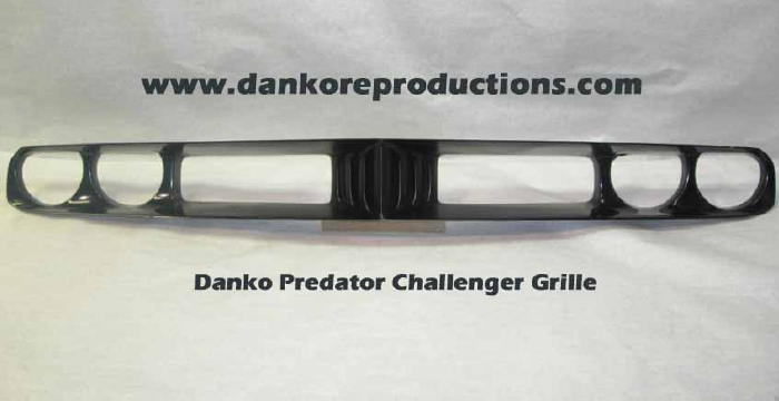 Dodge Challenger Grille Cuda Danko Reproductions