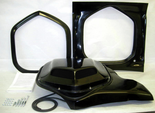Dodge Charger Shaker Hood System Danko Reproductions