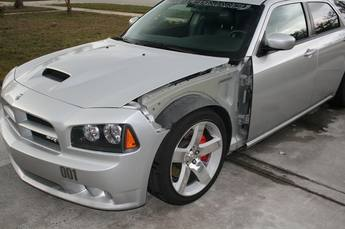 2006-2010 Dodge Charger Custom Vented Fenders - pair