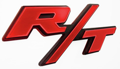 Small R/T Body Emblem - Solid Style / ea.