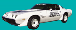 1981 Firebird Turbo Trans Am NASCAR Pace Car Decal Kits - GM Licensed