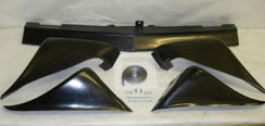 1979-1981 Pontiac TA Trans-Am 5-Piece front and rear wheel flare ground effects kit.