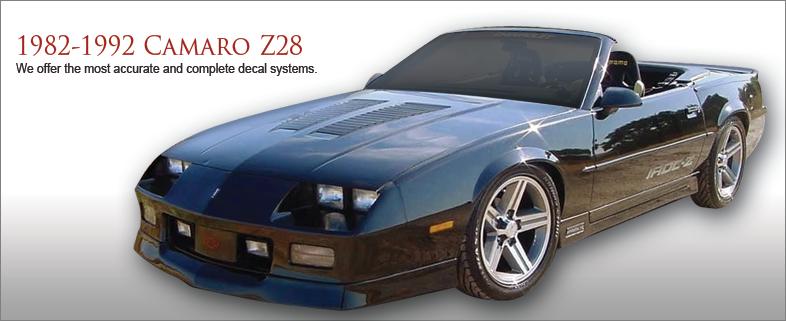 Camaro Z-28 1982-1992