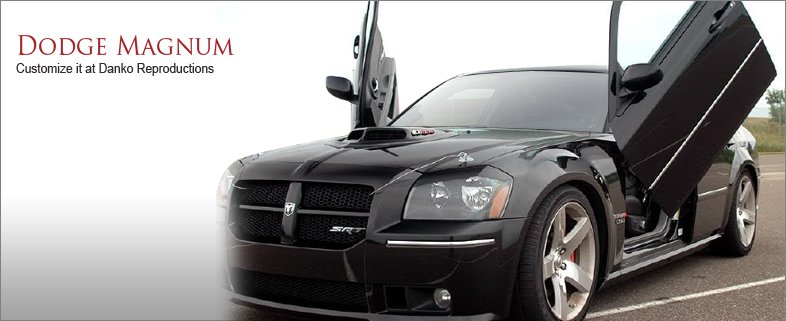 Dodge Magnum Grilles Custom Danko Reproductions