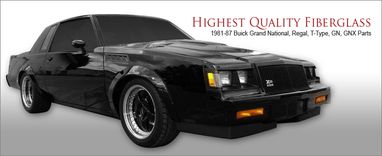 buick grand national bumper fillers buick regal bumper fillers buick grand national parts danko reproductions buick grand national bumper fillers