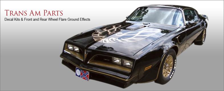 Pontiac Trans Am Parts