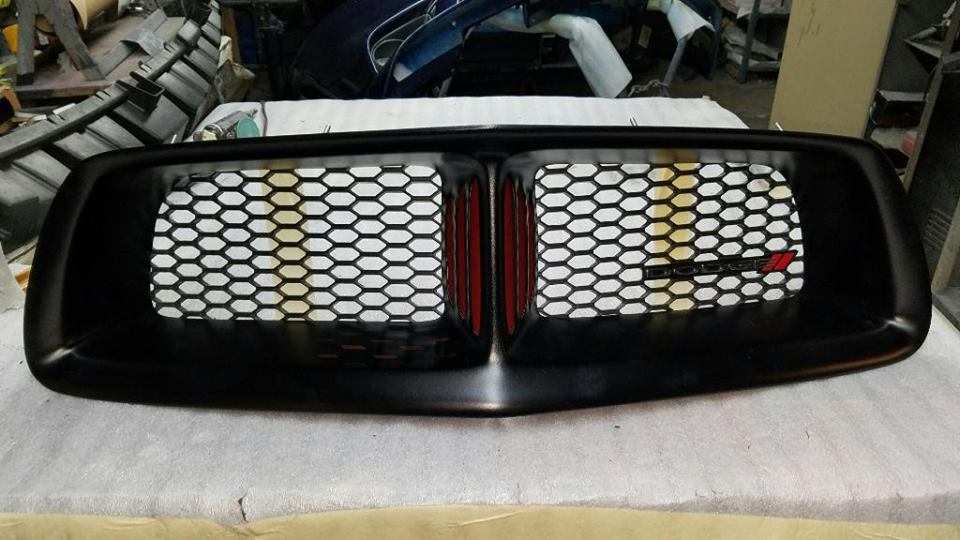 68 Style Custom Grille W/Hex Mesh